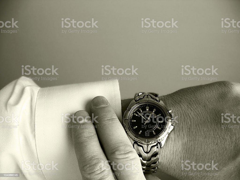 Ahead of schedule 2 royalty-free stock photo
