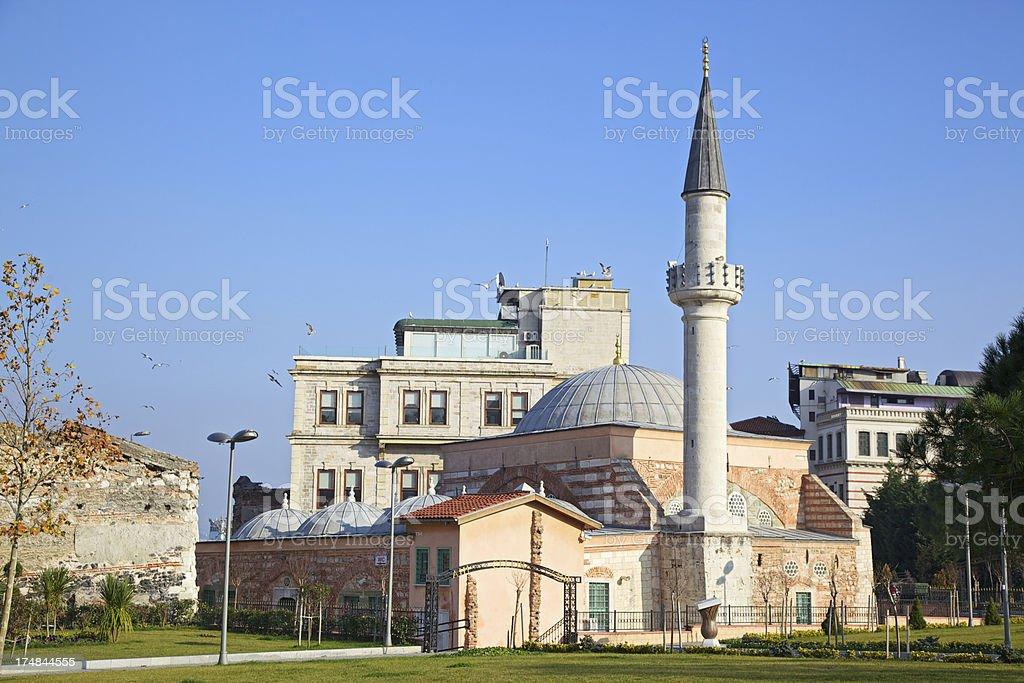 Ahi Celebi Mosque. Istanbul, Turkey. stock photo