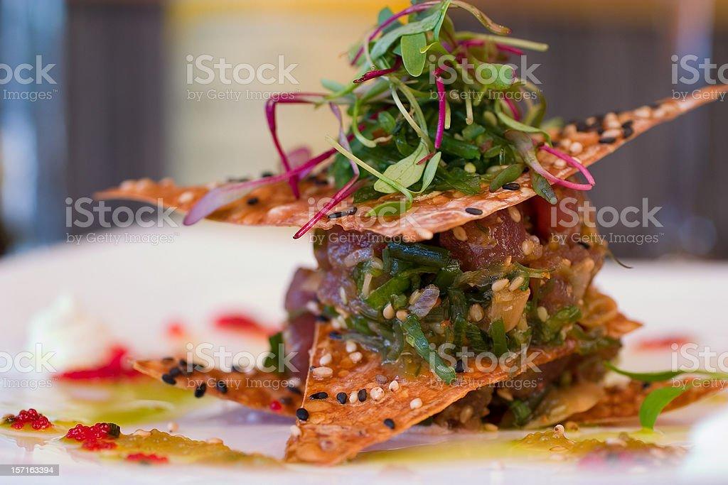 Ahi Tuna royalty-free stock photo