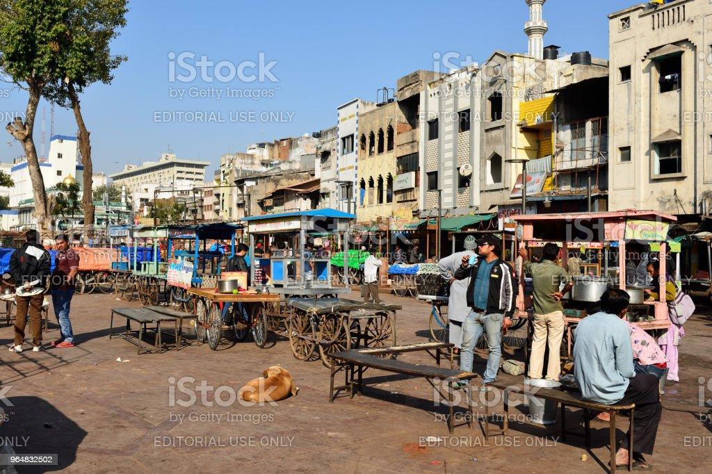 Ahmadabad city in India royalty-free stock photo