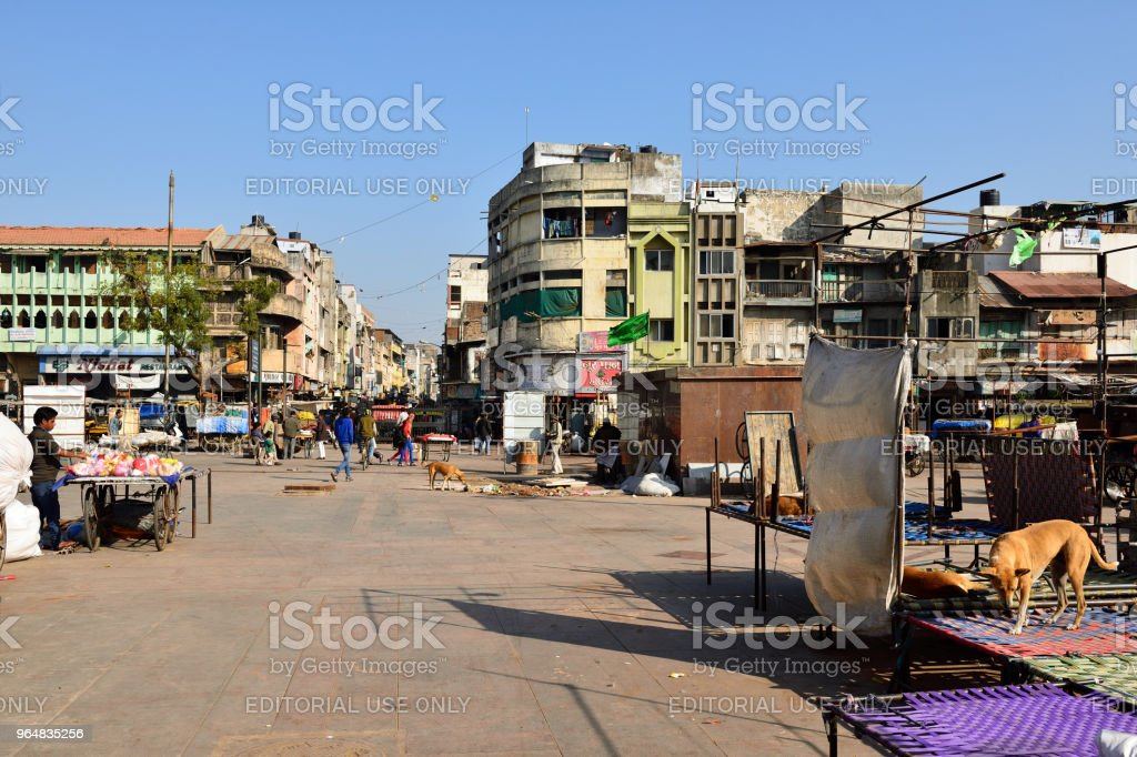 Ahmadabad city in India royalty-free stock photo
