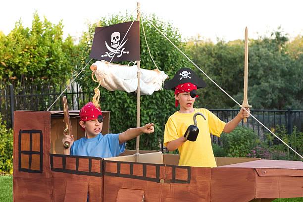Ahoy ye Pirates stock photo