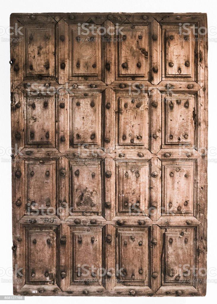 ahsap eski kapı stock photo
