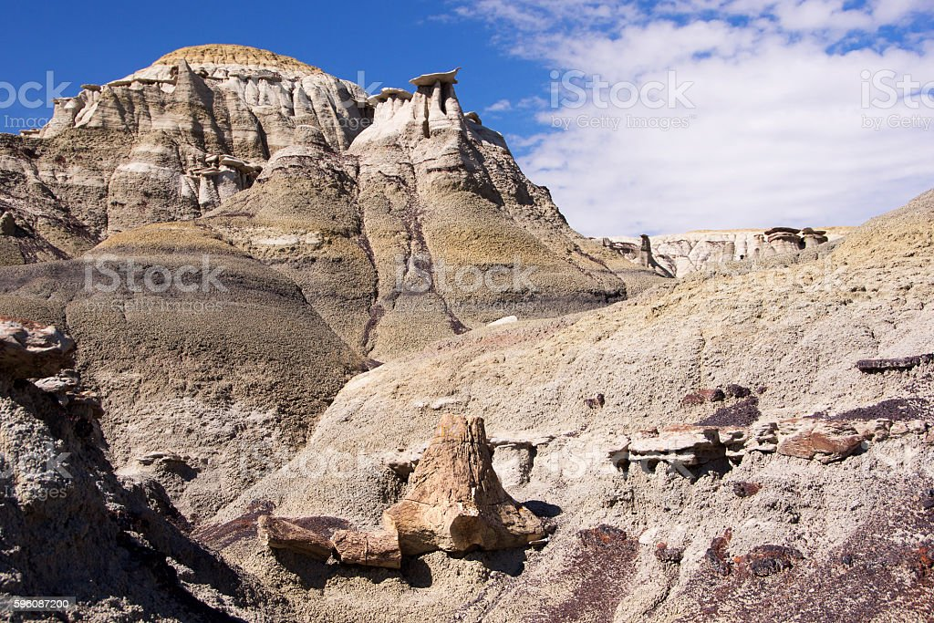 Ah-Shi-Sle-Pah Wilderness Study Area, New Mexico, USA royalty-free stock photo