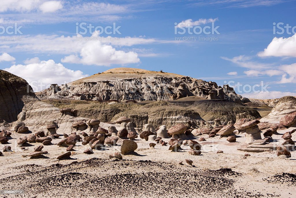 Ah-Shi-Sle-Pah Wilderness Study Area, New Mexico, USA royalty-free stock photo