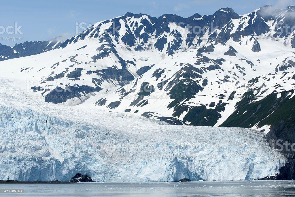 Aialik Glacier in Alaska. royalty-free stock photo