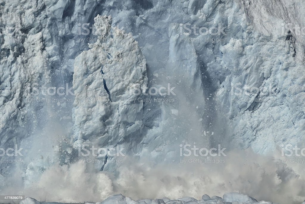 Aialik Glacier royalty-free stock photo