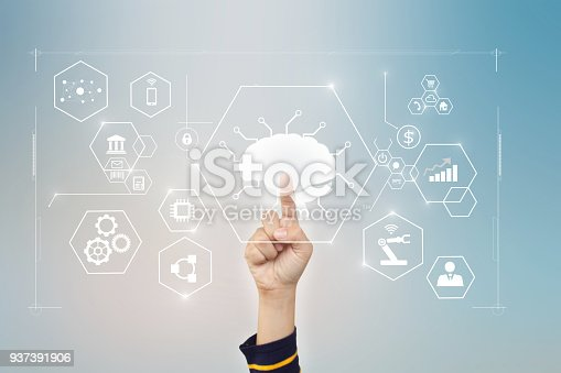 istock AI,Artificial intelligence,machine learning concept 937391906