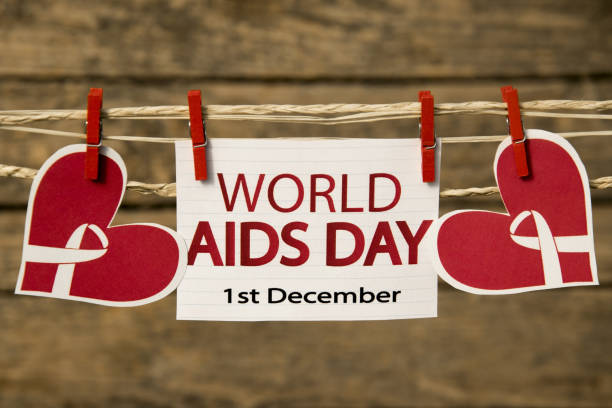 Aids day stock photo