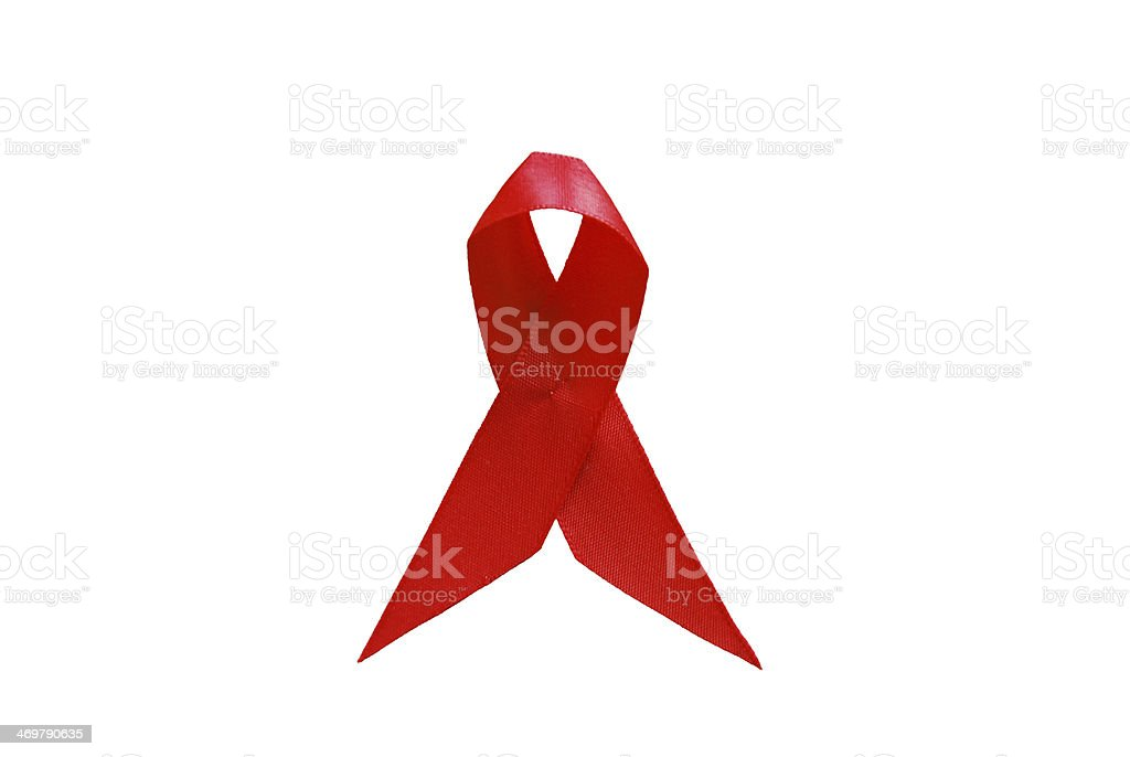 Aids Ribbon stock photo