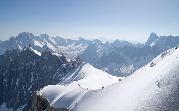 Aiguille du Midi - 3,842 mètres carrés, Alpes françaises - Photo