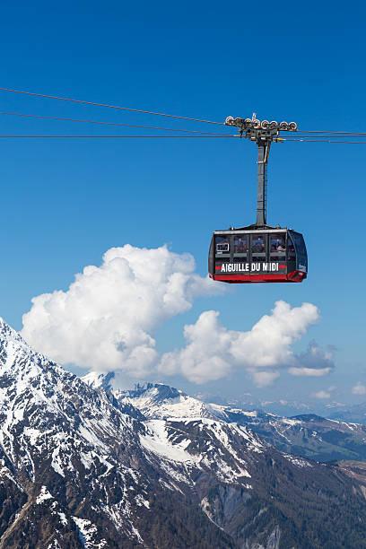 Aiguille du midi tramway, Chamonix, France - Photo