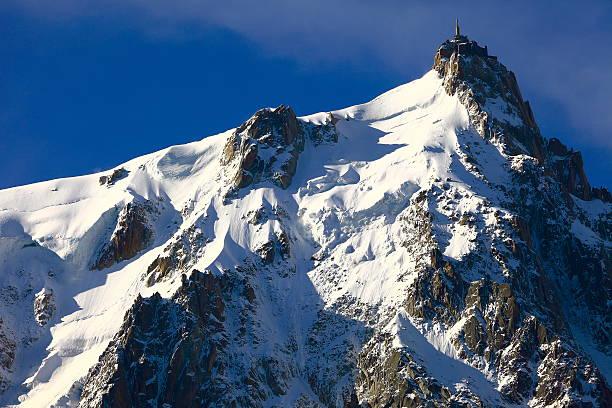 Vue latérale de l'Aiguille du Midi - Photo