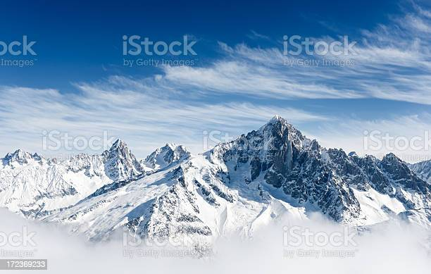 Photo of Aiguille Verte and the Mont Blanc Massif