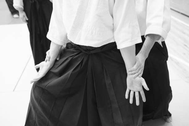 Aikido-Trainingsteilnehmer – Foto