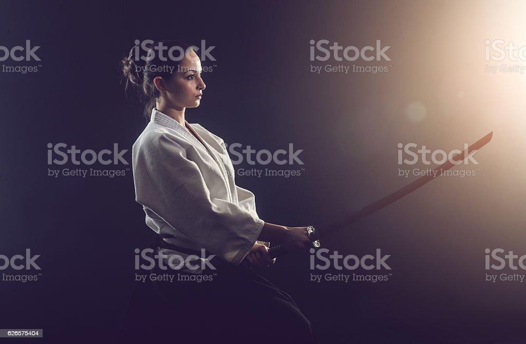 Aïkido femme - Photo