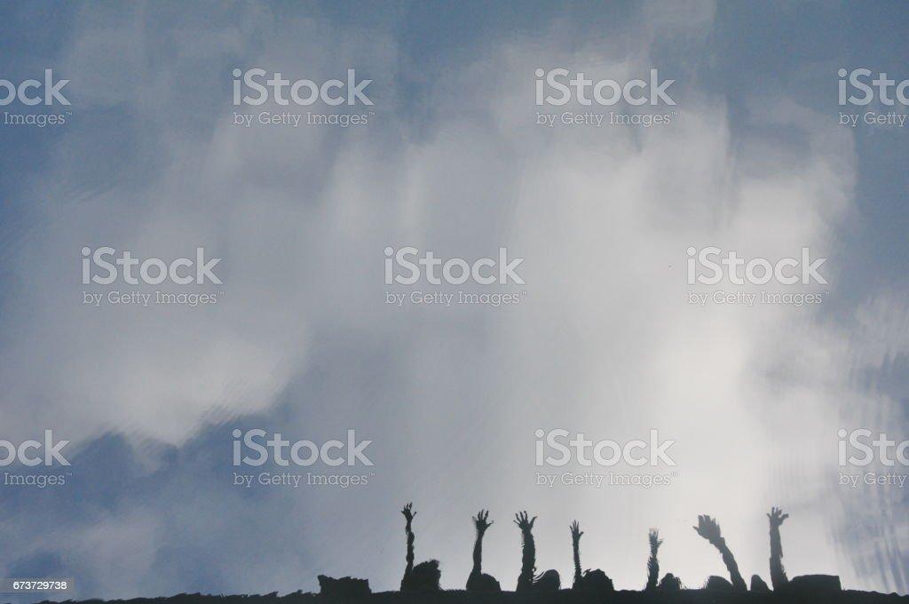 Aim High photo libre de droits