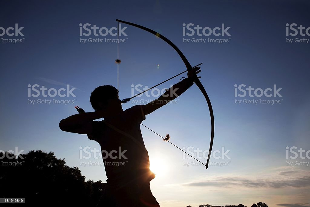 Aiming HIgh stock photo