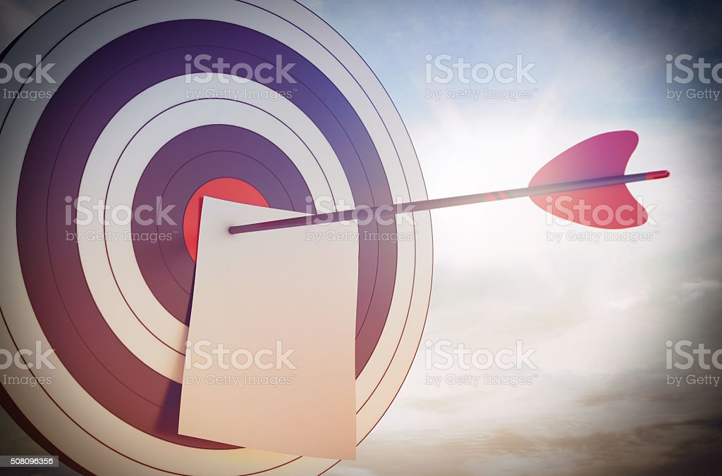 Aiming stock photo