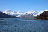 Ainsworth Bay at Almirantazgo Fjord. Patagonia. Chile