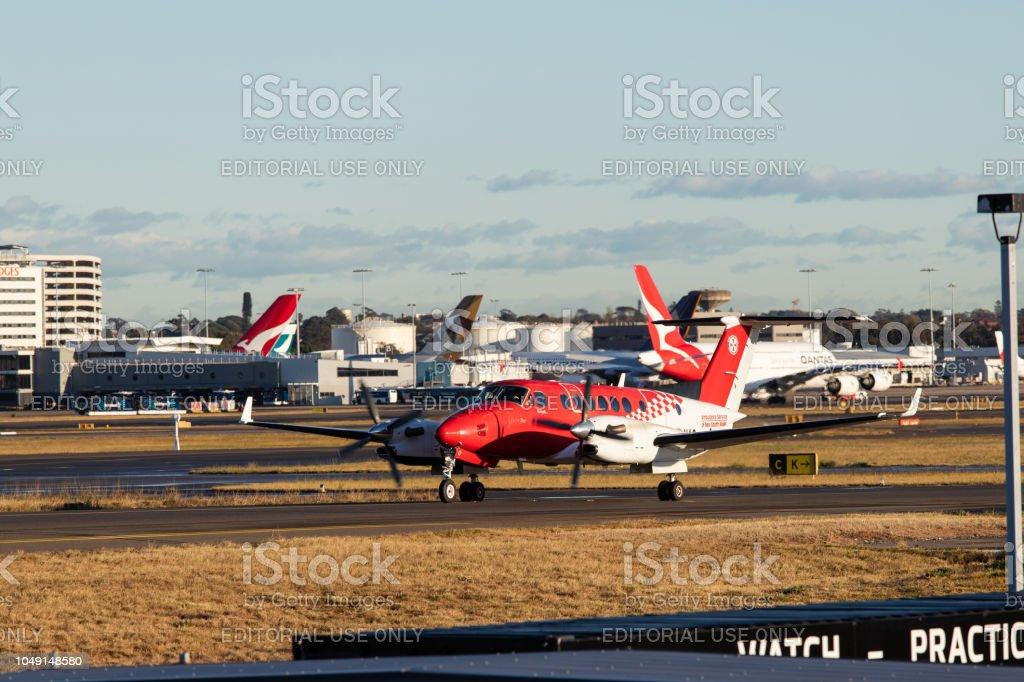 NSW Air Ambulance stock photo