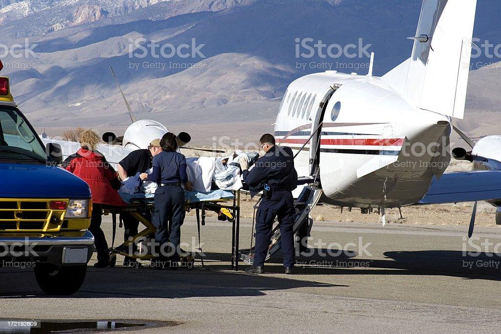 Air Ambulance-1 stock photo