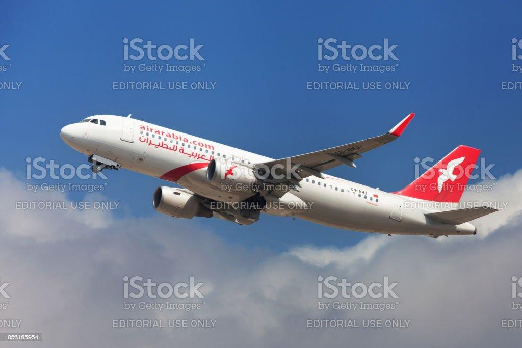 Air Arabia Maroc Airbus A320 stock photo