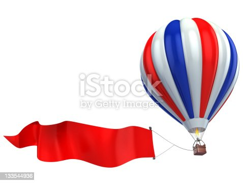 istock air balloon advertisement 133544936