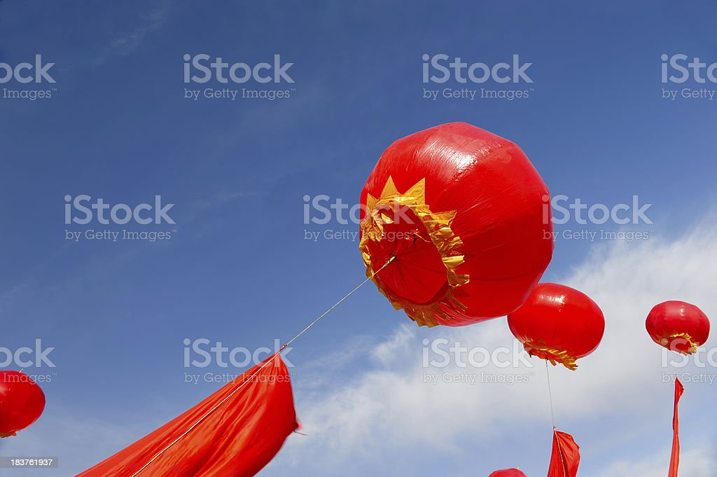 Air Balloon Decoration For Celebration Event and Entertainment royalty-free stock photo