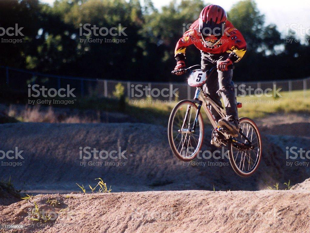 Air Bike stock photo