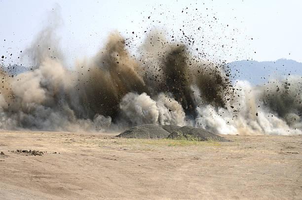 Air Blast stock photo
