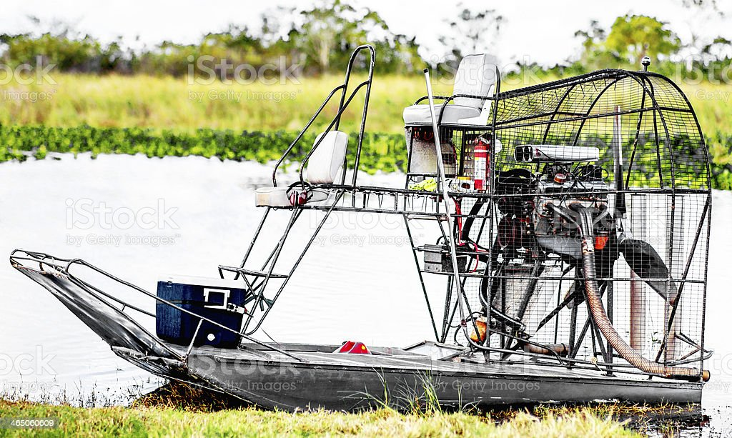 Air Boat stock photo