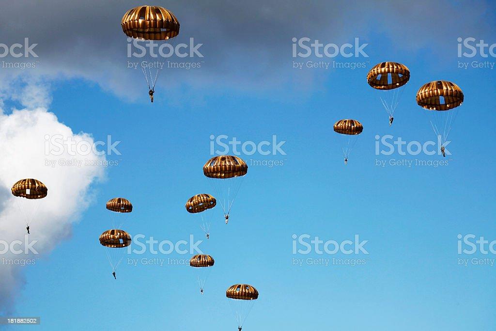 Air Borne stock photo