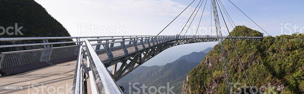Air Bridge in Malaysia stock photo