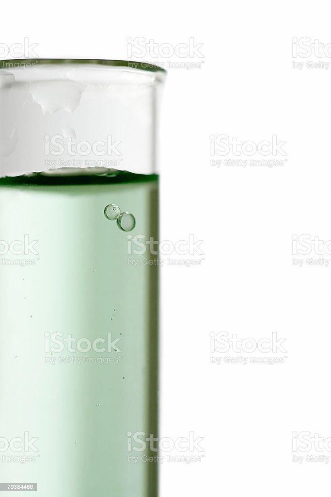 Air bubbles in liquid 免版稅 stock photo