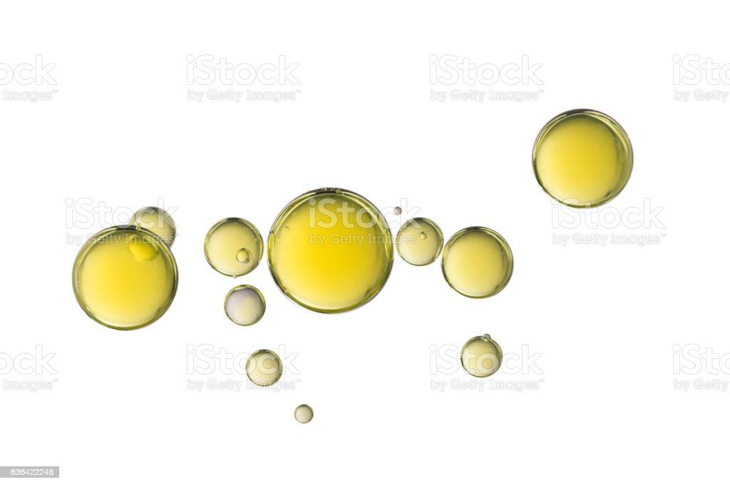 Air bubbles stock photo