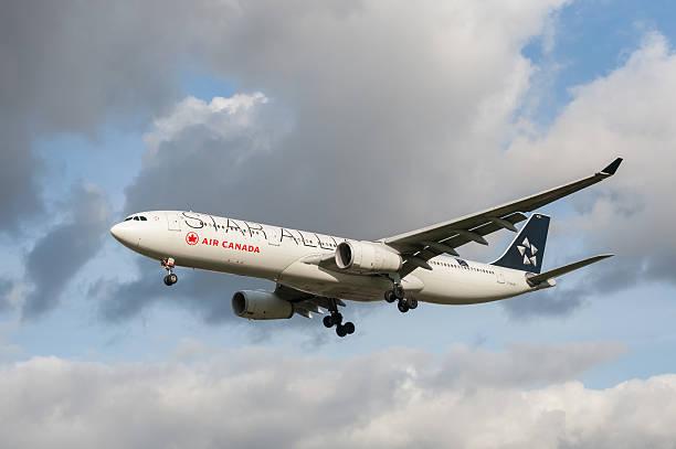 Air Canada Airbus A321 stock photo