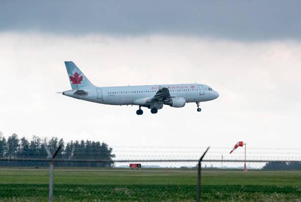 Air Canada Airbus stock photo