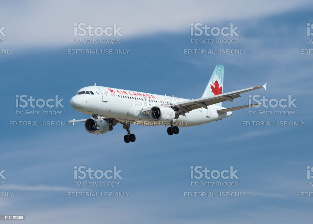 Aériens avion Canada. - Photo