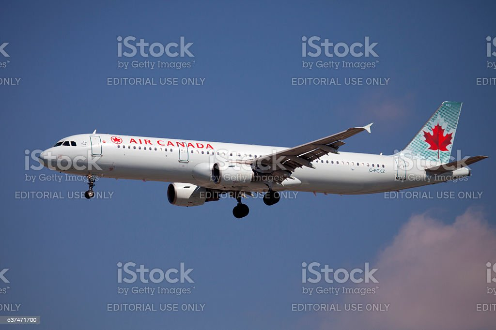 Air Canada Airline stock photo