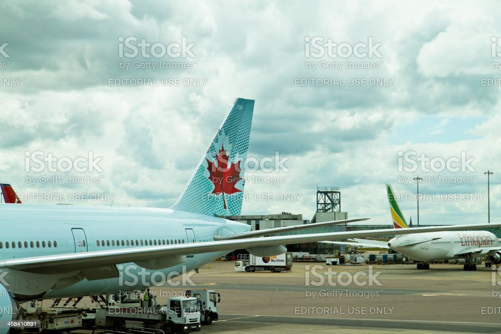 Air Canada et avion-Ethiopian Airlines - Photo