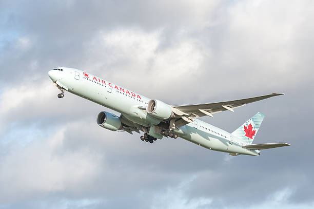 Air Canada Boeing 777 stock photo