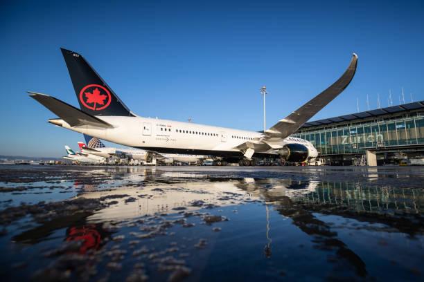 Air Canada Boeing 787-9 Dreamliner stock photo
