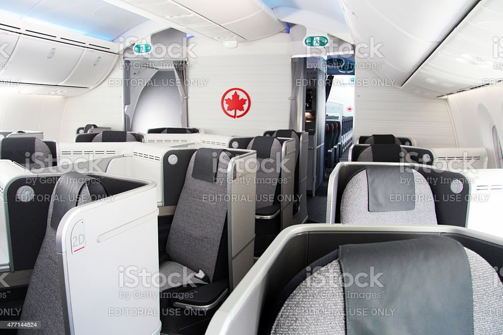 Classe affaires avec Air Canada - Photo