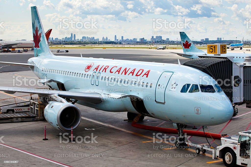Préparation de vol avec Air Canada - Photo