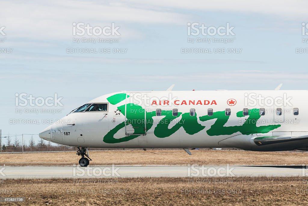 Air Canada Jazz de l'arrivée - Photo