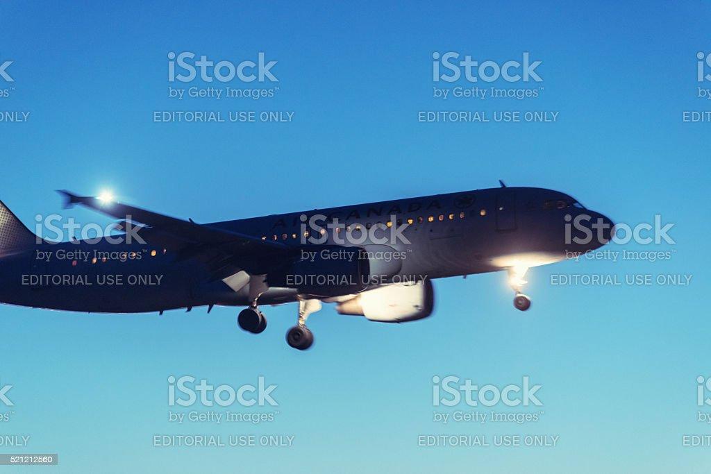 Passager Jet d'Air Canada - Photo