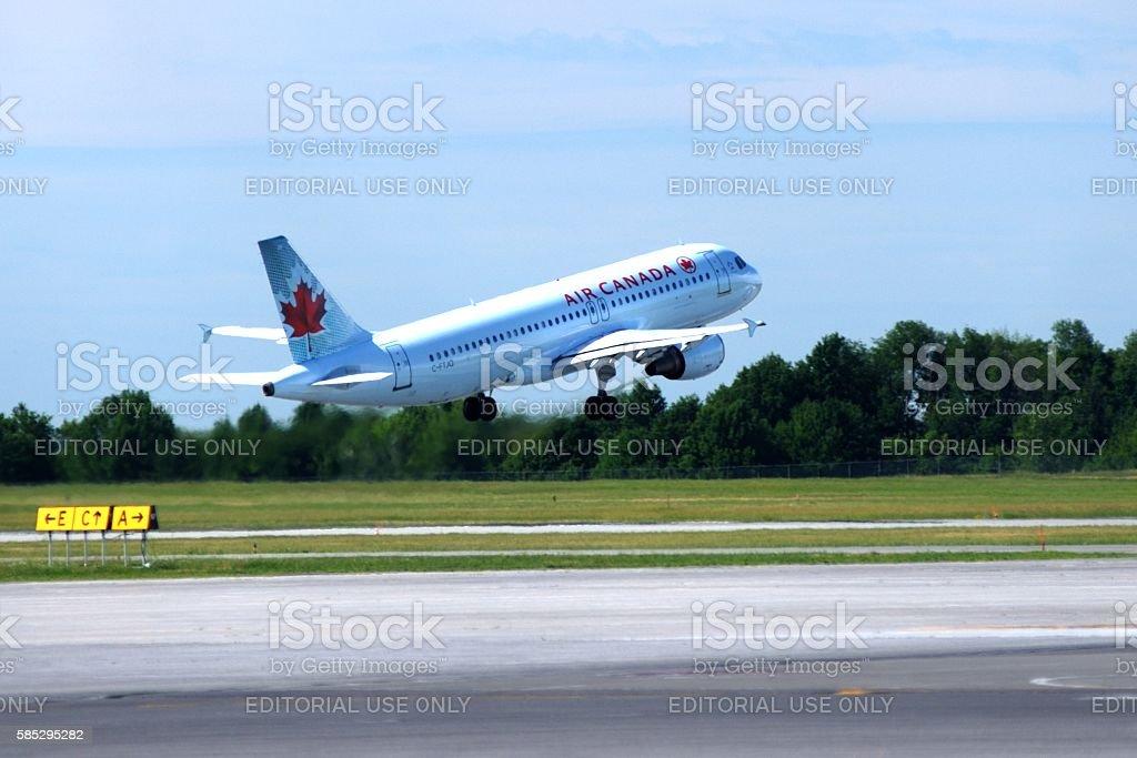 Air Canada Passenger Jet Taking Off - Photo