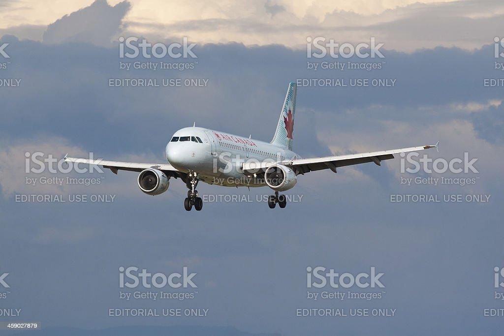 Air Canada stock photo