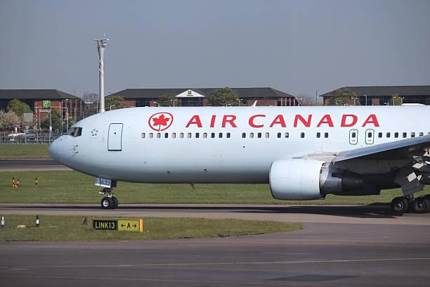 air canada - b767 stock-fotos und bilder